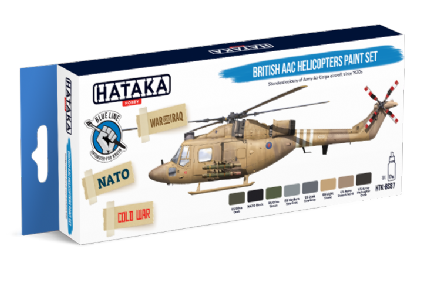Hataka British AAC Helicopters Paint Set (Acrylic for Brush Painting)